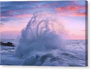 Rough Sea 29 Canvas Print