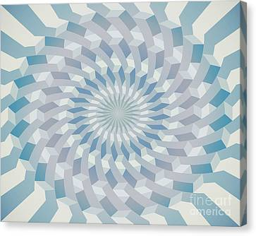 Round Pattern 170.4 Canvas Print by Igor Kislev
