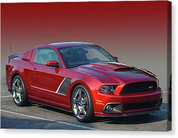 Canvas Print featuring the photograph Roush Stage 3 by Bill Dutting
