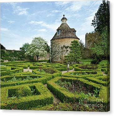 Rousham Gardens In Spring Canvas Print