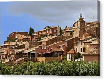 Rousillon Canvas Print by Stan and Anne Foster