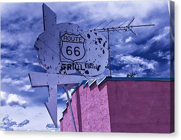 Route 66 Grill Canvas Print