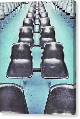 Row Of Seats  Canvas Print