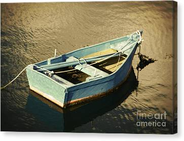 Rowboat At Twilight Canvas Print