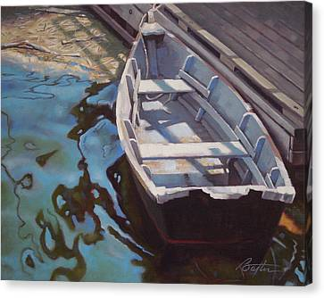 Rowboat One Canvas Print by Todd Baxter