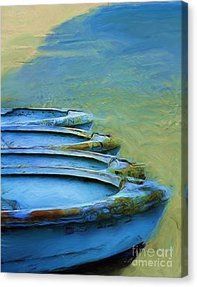 Rowboats Canvas Print by Tom Griffithe