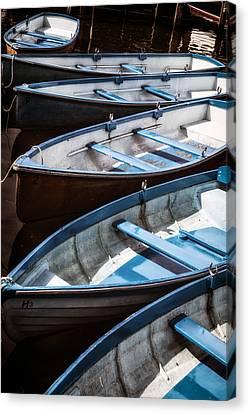 Rowboat Canvas Print - Rowing Boats by Joana Kruse