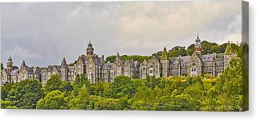 Canvas Print featuring the photograph Rows by Wanda Krack