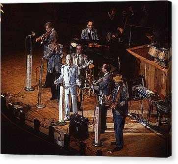 Canvas Print featuring the photograph Roy Acuff At The Grand Ole Opry by Jim Mathis
