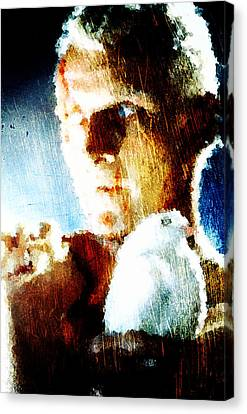 Beam Canvas Print - Roy Batty by Andrea Barbieri