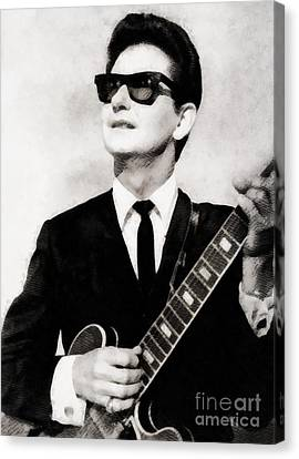 Glamor Canvas Print - Roy Orbison, Legend by John Springfield