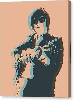 Roy Orbison Canvas Print - Roy Orbison Pop by Dan Sproul