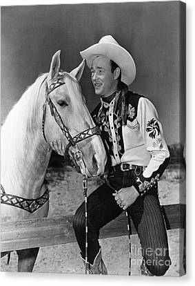 Encbr Canvas Print - Roy Rogers by Granger