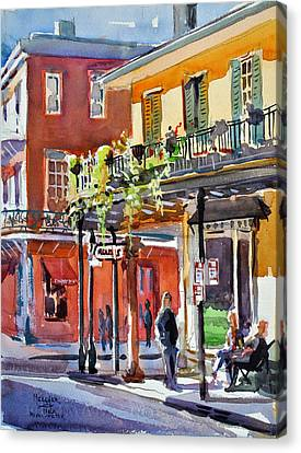 Royal And St Peter Nola Canvas Print by Spencer Meagher