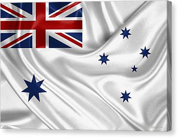 Royal Australian Navy -  R A N  Ensign Canvas Print