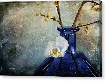Royal Blue Canvas Print by Randi Grace Nilsberg