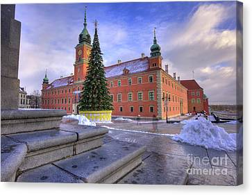 Canvas Print featuring the photograph Royal Castle by Juli Scalzi