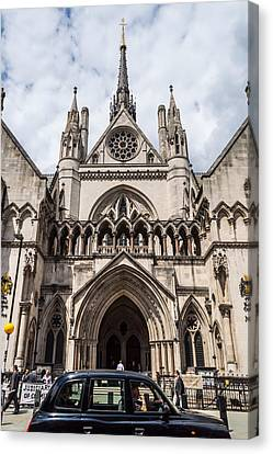 Royal Courts Of Justice In London Canvas Print