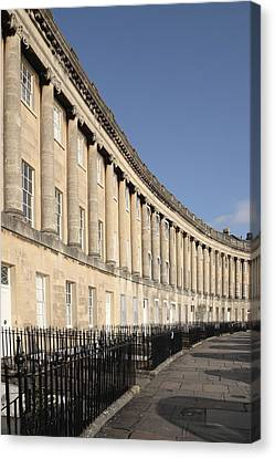 Royal Crescent, Bath, Avon Canvas Print by Anthony Collins
