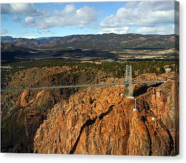 Royal Gorge Canvas Print by Anthony Jones