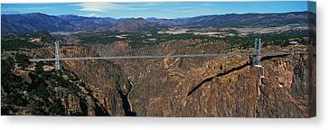 Royal Gorge Bridge Arkansas River Co Canvas Print