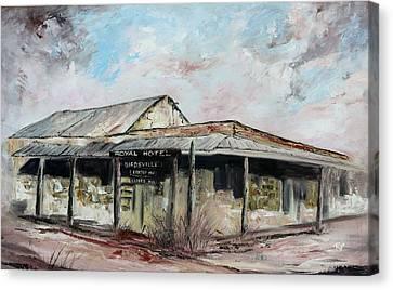 Royal Hotel, Birdsville Canvas Print