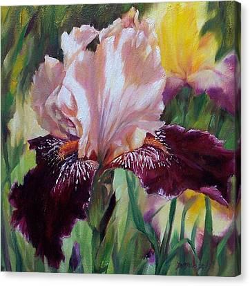 Royal Iris Canvas Print by Donna Munsch