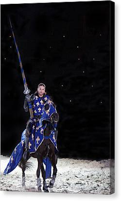 Royal Knight  Canvas Print