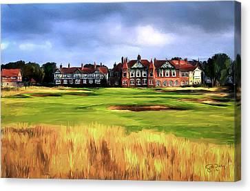 Royal Lytham St. Annes Golf Club Canvas Print by Scott Melby