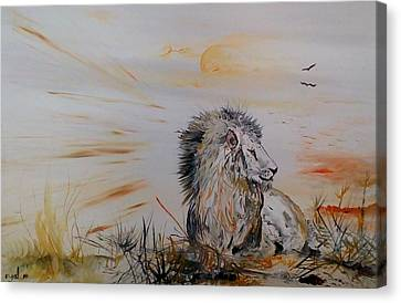 Royal Meekness Canvas Print by Eyal Malek