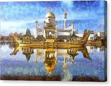 Royal Mosque  Canvas Print