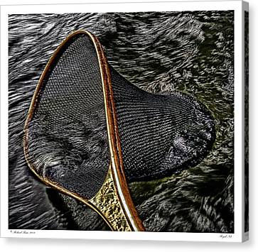 Canvas Print featuring the photograph Royal Net by Richard Bean
