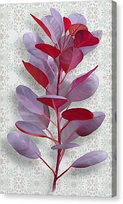 Royal Purple Canvas Print by Ivana Westin