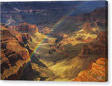 Northern Arizona Canvas Print - Royal Rainbow by Peter Coskun