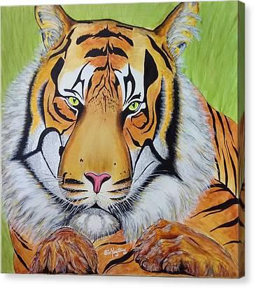 Royal Sumatran Canvas Print