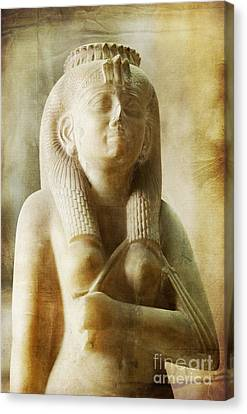 Royal Women In Ancient Egypt. Canvas Print