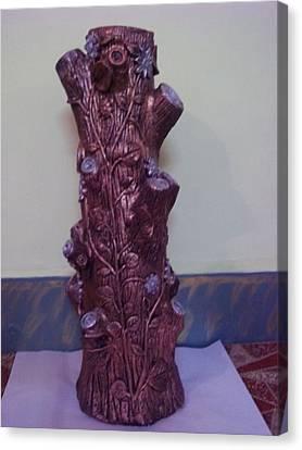 Royale Tree Canvas Print by Hakimuddin Pathan
