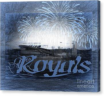 Royals Canvas Print by Andee Design