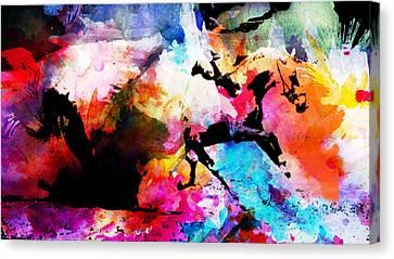 Ruan Away Canvas Print by Isabel Salvador