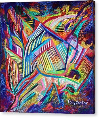 Rubaiyat Canvas Print - Rubaiyat by Polly Castor