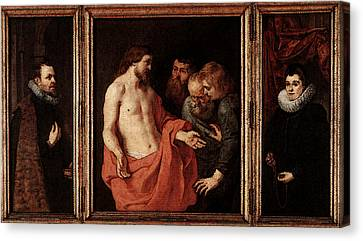 Rubens The Incredulity Of St Thomas Canvas Print