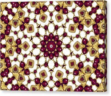 Rubies Canvas Print by Natalie Holland