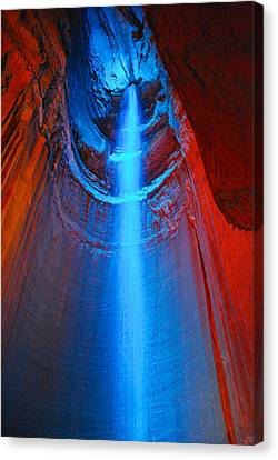 Ruby Falls Waterfall 3 Canvas Print