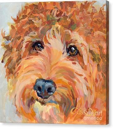 Ruby Canvas Print by Kimberly Santini