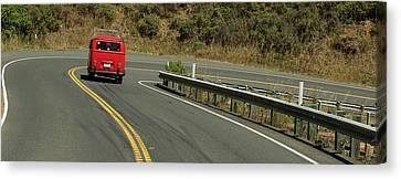 Ruby On The Road Canvas Print