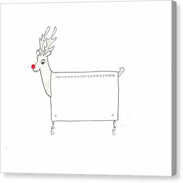 Rudolf The Red Nosed Radiator Canvas Print by Lincoln Seligman
