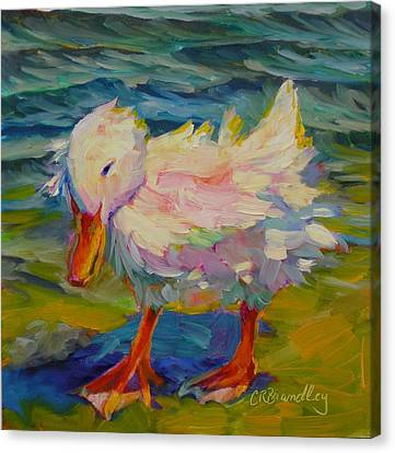 Ruffled Feathers Canvas Print by Chris Brandley