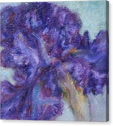 Ruffled Canvas Print