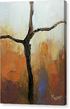 Rugged Cross Canvas Print by Mike Moyers