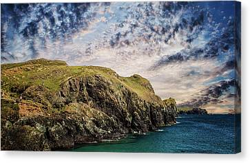Rugged Landscape Canvas Print by Martin Newman